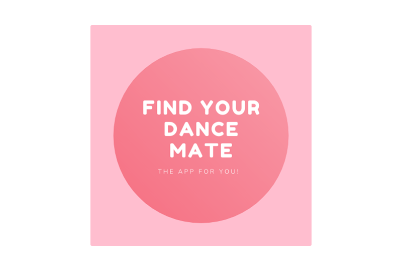 Find your dance mate - logo